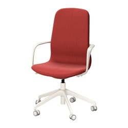 LÅngfjÄll Swivel Chair Gunnared Brown Red White Tested For