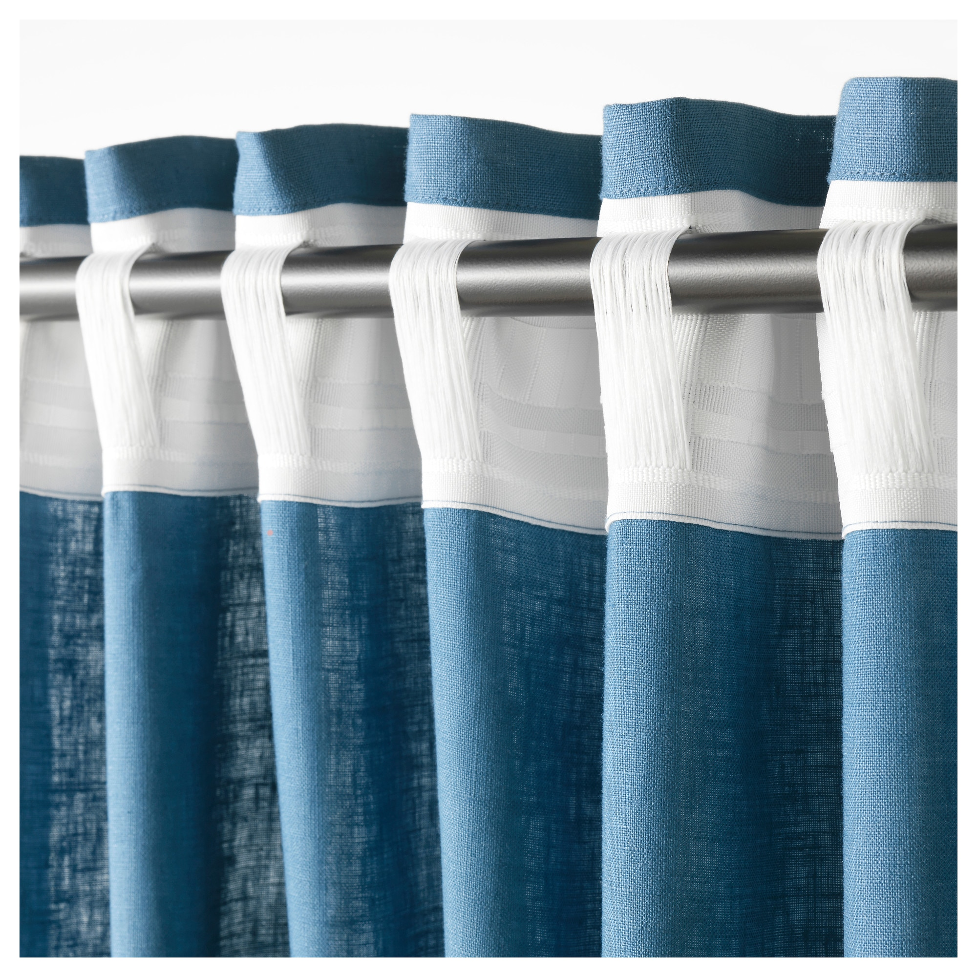 hudson ink curtain chambray option ivy pin shower curtains by color and