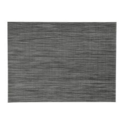 SNOBBIG place mat, dark grey