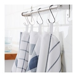 Superbe ELLY Dish Towel, White, Blue
