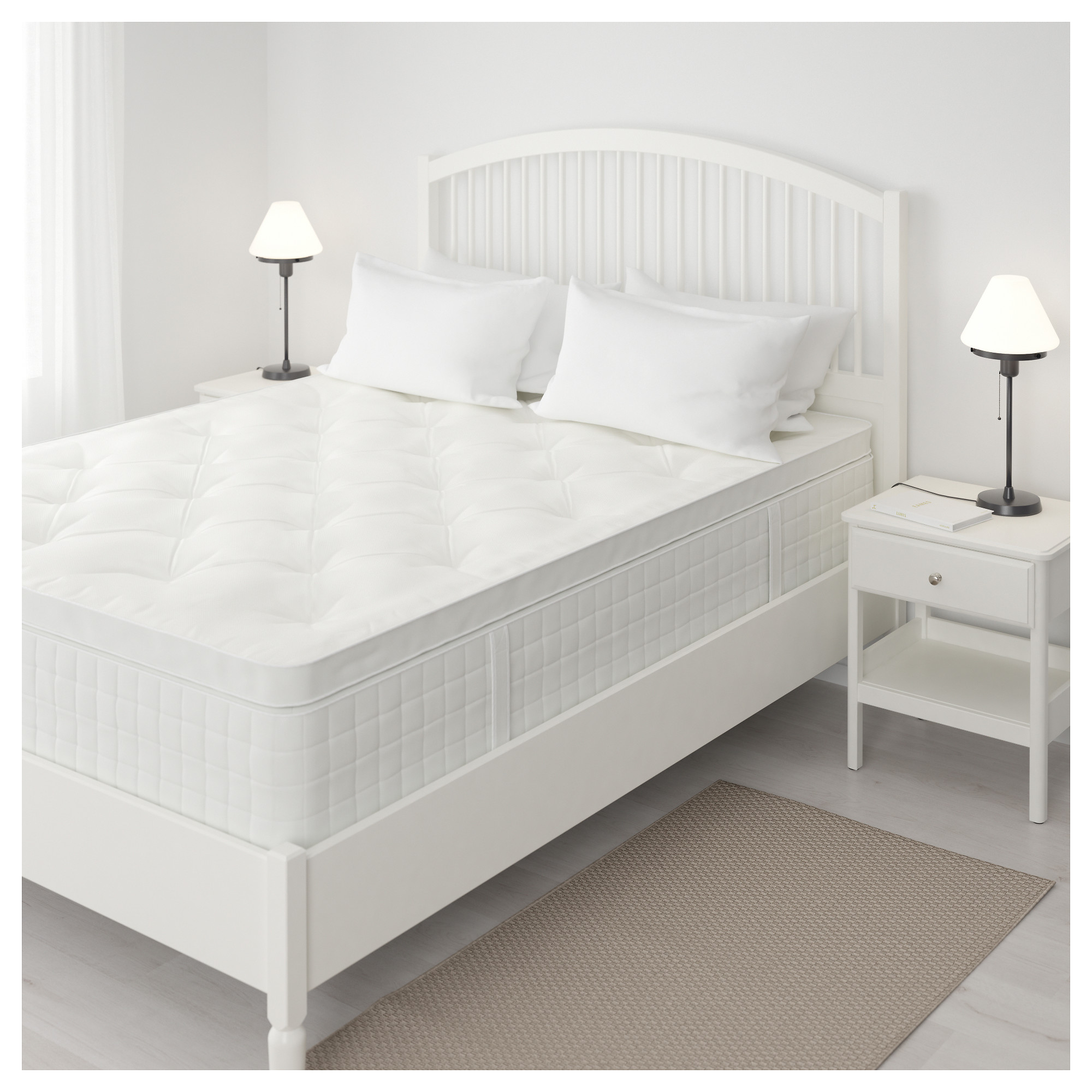Hjellestad Pillowtop Mattress Queen Ikea