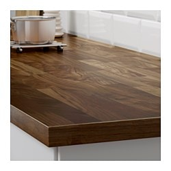Charmant KARLBY Countertop For Kitchen Island, Walnut