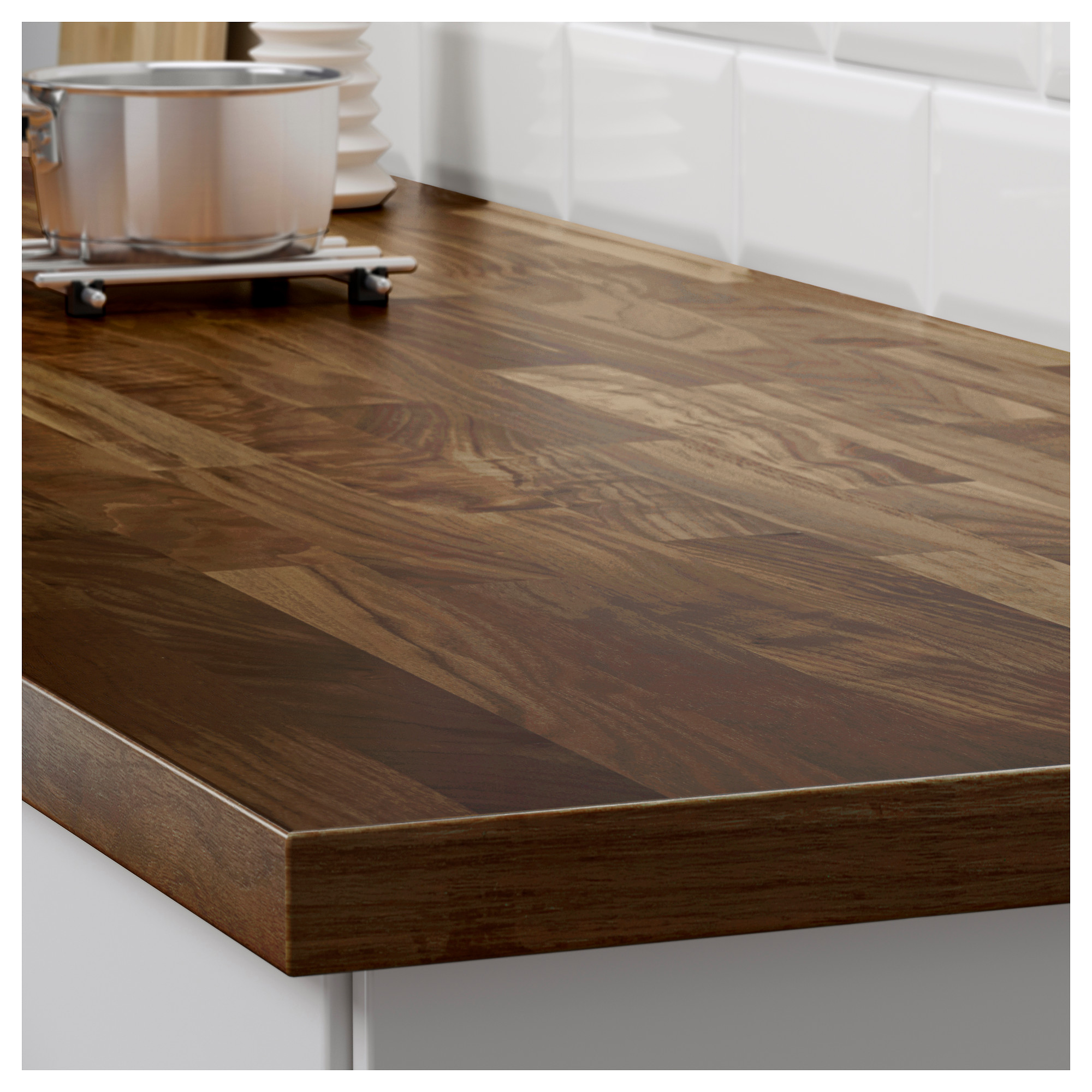 Ikea Wood Countertop Review Karlby Countertop For Kitchen Island Walnut Ikea