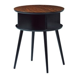 BJÄLLSTA coffee table, black-brown