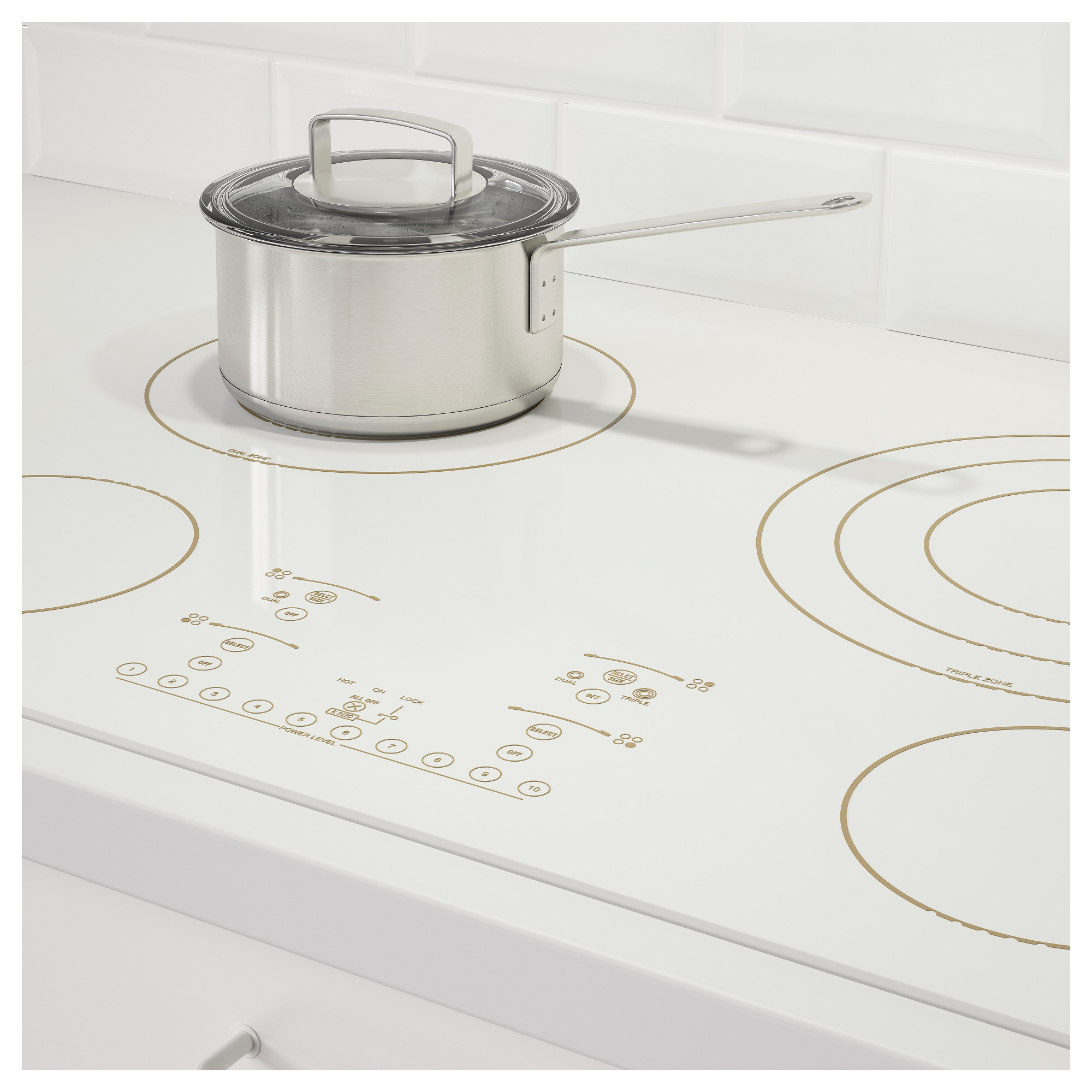 Nutid 4 Element Glass Ceramic Cooktop Ikea Wiring Zones Kitchen