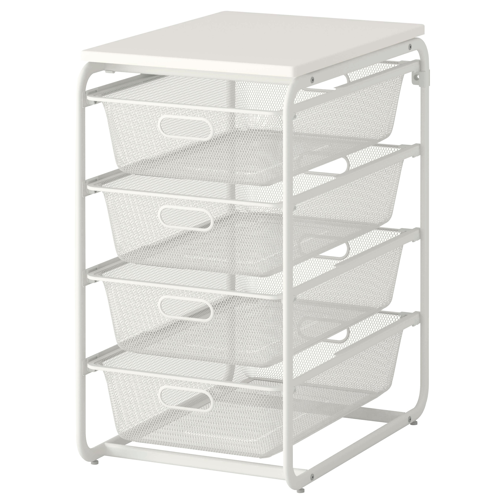 Charming ALGOT Frame With 4 Mesh Baskets/top Shelf   IKEA