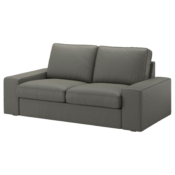 Kivik Two Seat Sofa Borred Grey Green Ikea