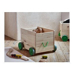 flisat toy storage with casters - Toy Storage Boxes