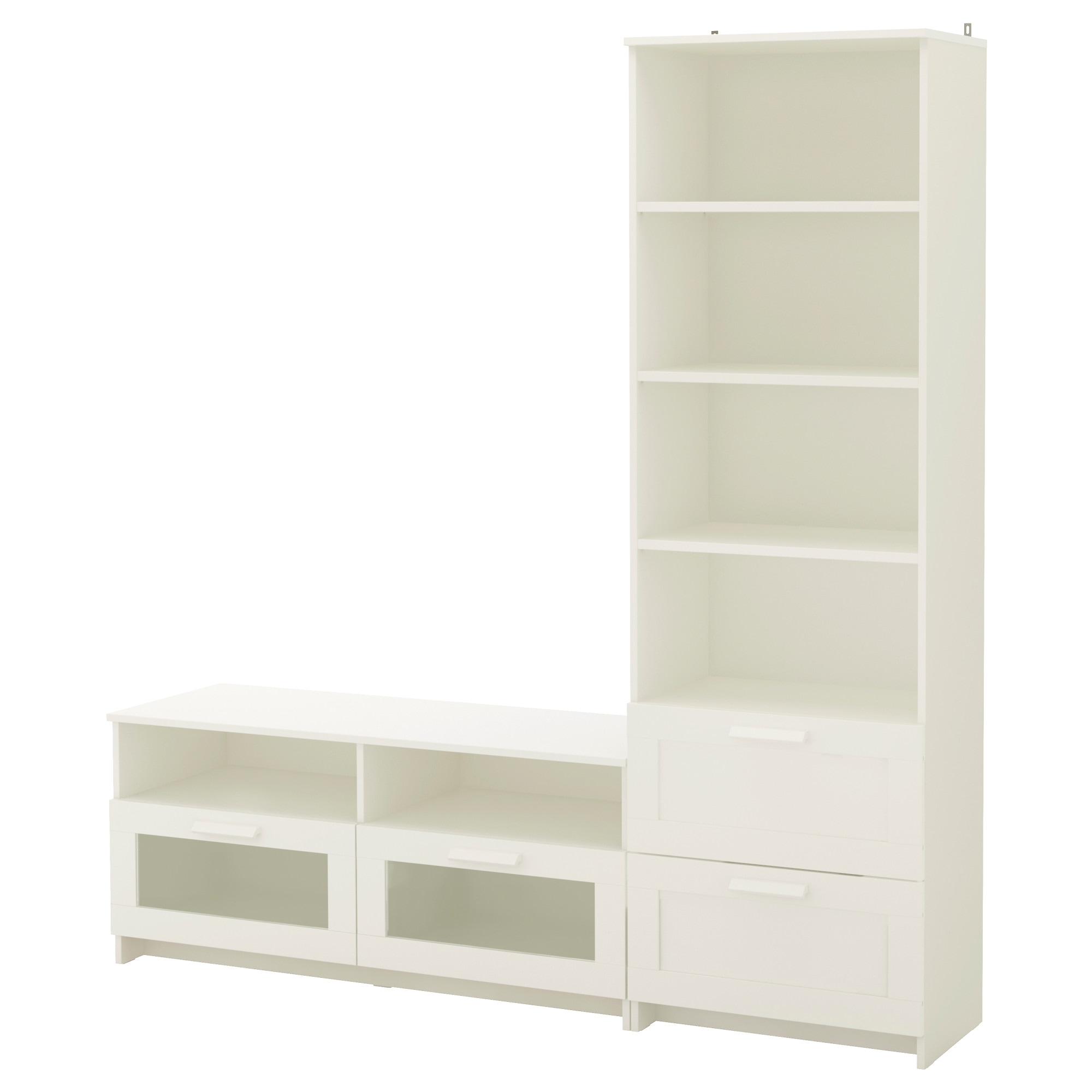BRIMNES TV storage bination white IKEA