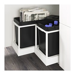 Utrusta Pull Out Recycling Bin Tray Ikea Family