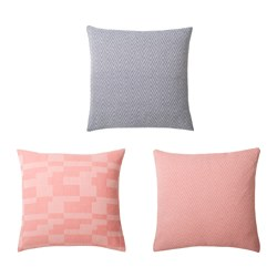 FULLVIKTIG cushion cover, assorted patterns Length: 50 cm Width: 50 cm