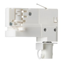 SKENINGE pendant connector, white