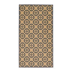 "VINTER 2016 rug, flatwoven, natural, gray Length: 4 ' 11 "" Width: 2 ' 7 "" Area: 12.92 sq feet Length: 150 cm Width: 80 cm Area: 1.20 m²"