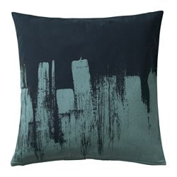 SLÖJGRAN, Cushion cover, blue