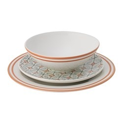 GROVT 18-piece dinnerware set