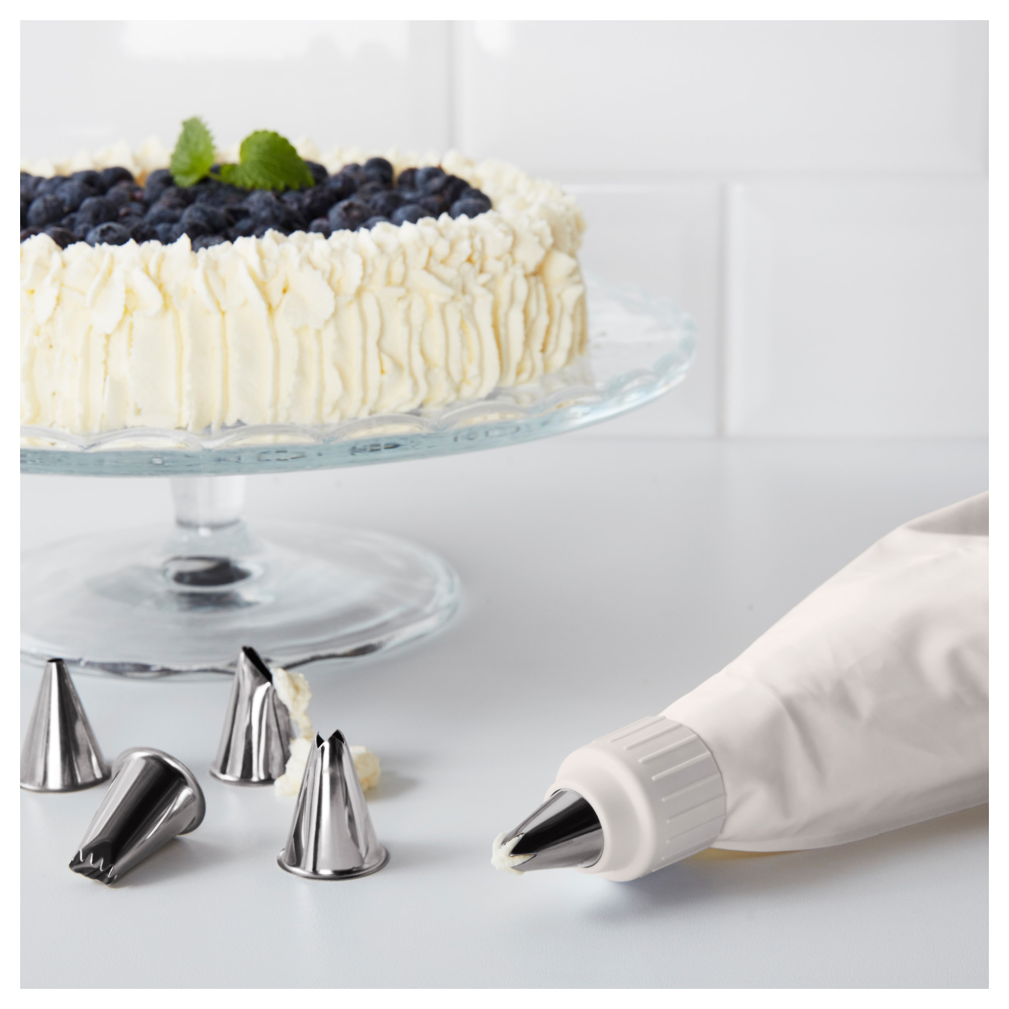 SMAKSAM Cake decorating set IKEA