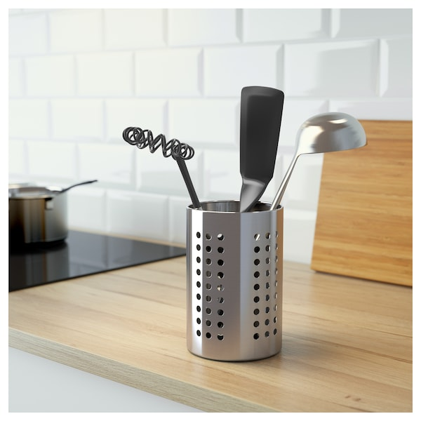 Utensil holder ORDNING stainless steel