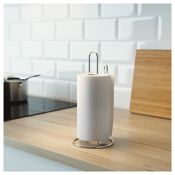 Papertowel Holder Torkad Silver Color
