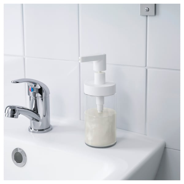 Tackan Soap Dispenser White Ikea