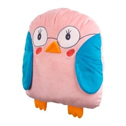 SAGOSKATT soft toy, owl Length: 30 cm