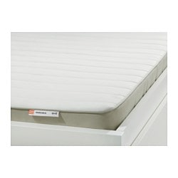 HUSVIKA sprung mattress, firm Length: 200 cm Width: 80 cm Thickness: 12 cm