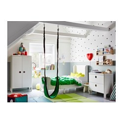 Busunge Extendable Bed White