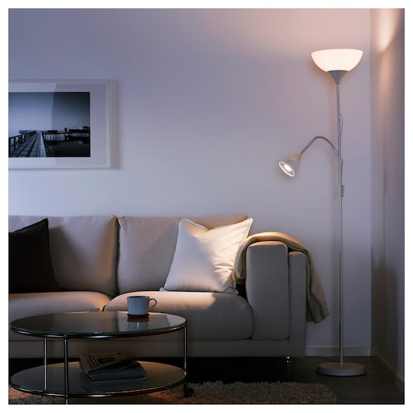 Floor Uplighter Reading Lamp Not White