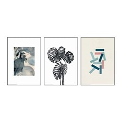TRILLING poster, set of 3, Organic and graphic Width: 21 cm Height: 30 cm