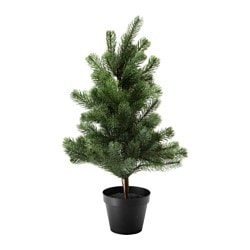 FEJKA artificial potted plant, Christmas tree