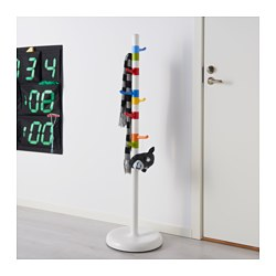 Krokig Clothes Stand White Multicolor 50 3 8