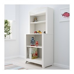 HENSVIK Cabinet with shelf unit - IKEA
