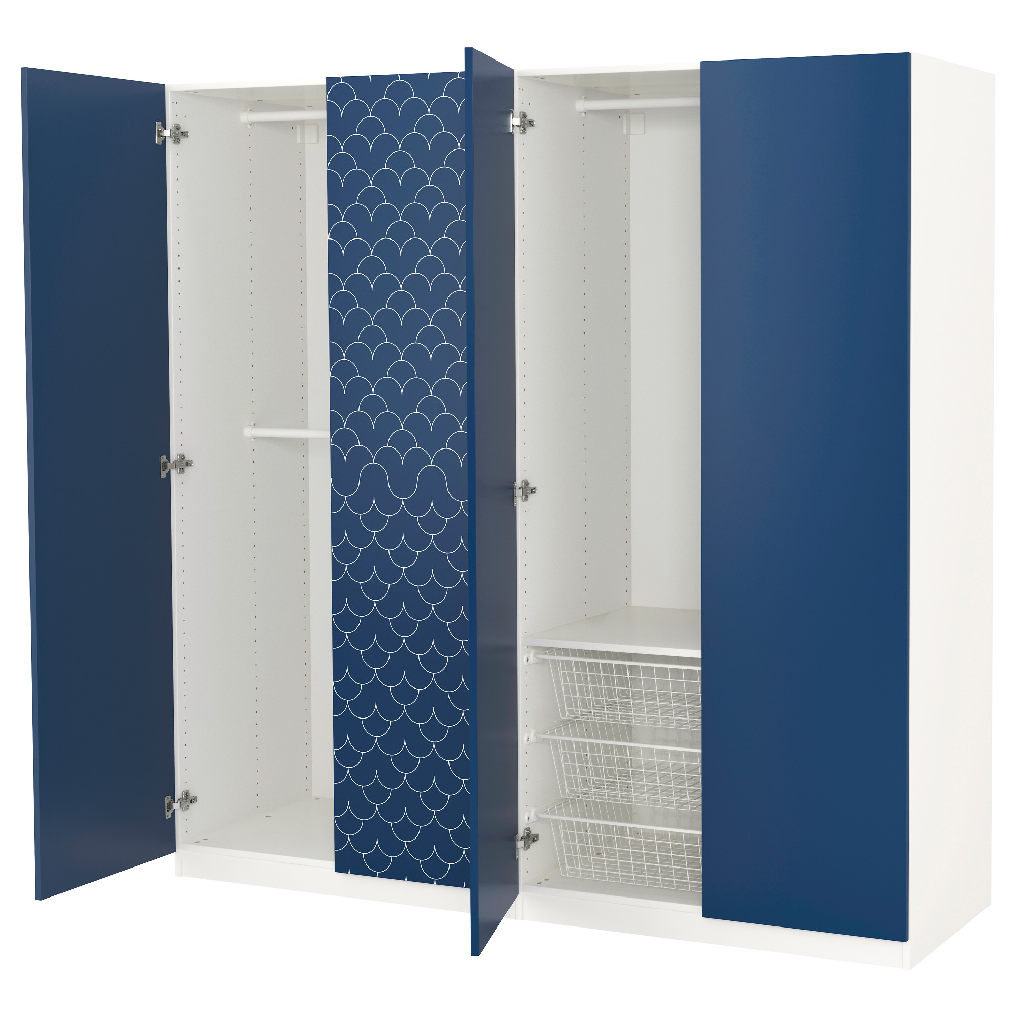 PAX system binations with doors IKEA