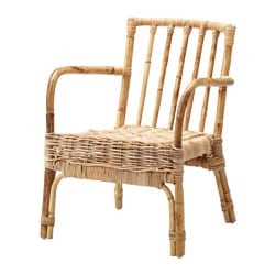 "JASSA chair, tightly-woven seat Width: 22 7/8 "" Depth: 30 3/8 "" Height: 28 3/8 "" Width: 58 cm Depth: 77 cm Height: 72 cm"