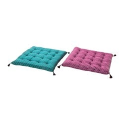 JASSA carreau de chaise, coloris assortis Largeur: 38 cm Larg. min.: 38 cm Epaisseur: 5.0 cm