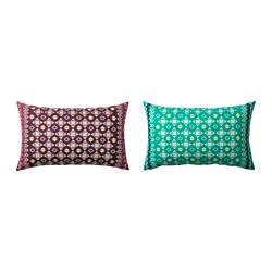 JASSA cushion cover, assorted colours Length: 40 cm Width: 65 cm