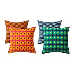 JASSA cushion cover, assorted colours Length: 50 cm Width: 50 cm