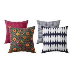 JASSA cushion cover, assorted patterns Length: 50 cm Width: 50 cm
