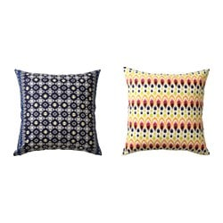 JASSA cushion cover, assorted patterns Length: 65 cm Width: 65 cm