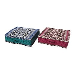 "JASSA floor cushion, assorted colors Length: 19 "" Width: 19 "" Thickness: 4 "" Length: 48 cm Width: 48 cm Thickness: 10 cm"