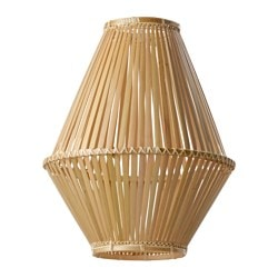 "JASSA pendant lamp shade, bamboo Height: 19 "" Diameter: 15 "" Height: 48 cm Diameter: 37 cm"