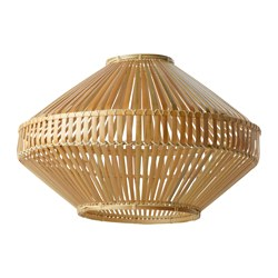 "JASSA pendant lamp shade, bamboo Height: 15 "" Diameter: 21 "" Height: 37 cm Diameter: 54 cm"