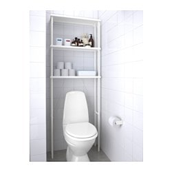 Exceptional DYNAN Open Storage, White