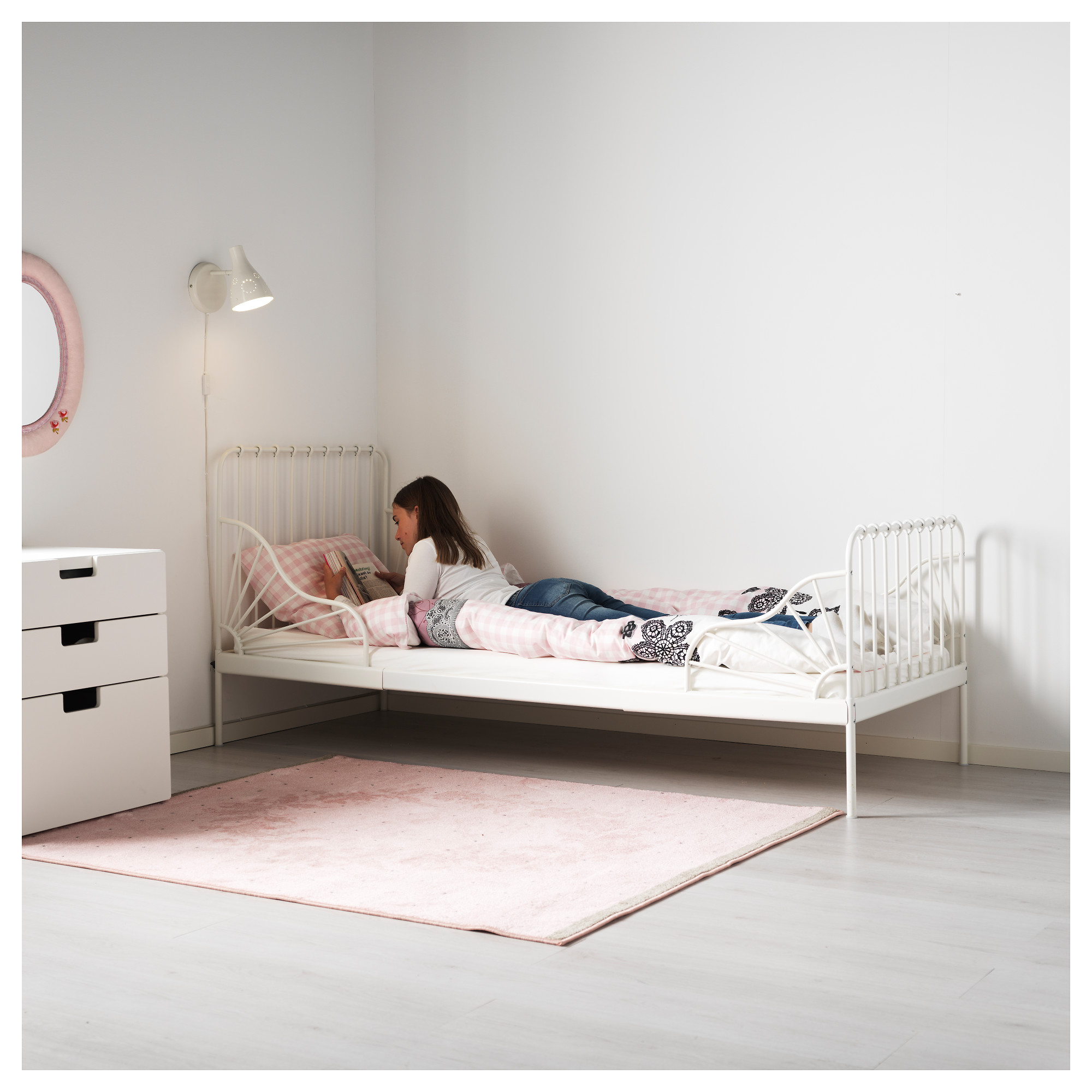 products ca slatted en with catalog white minnen frame ext bed base ikea
