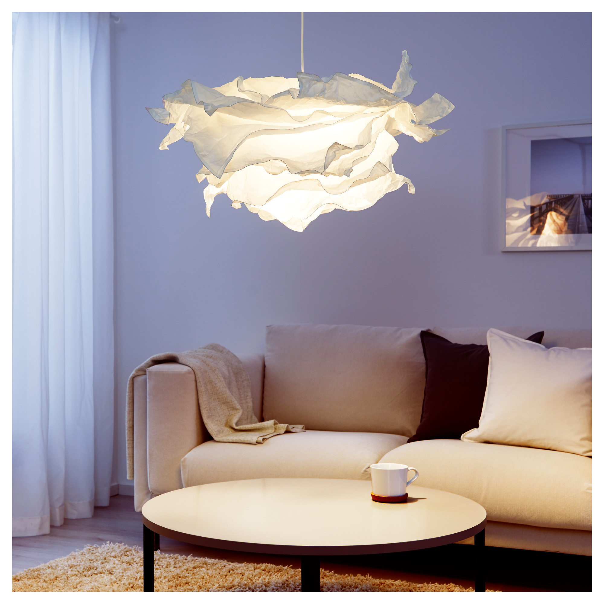 living room lamp shades.  KRUSNING Pendant lamp shade IKEA