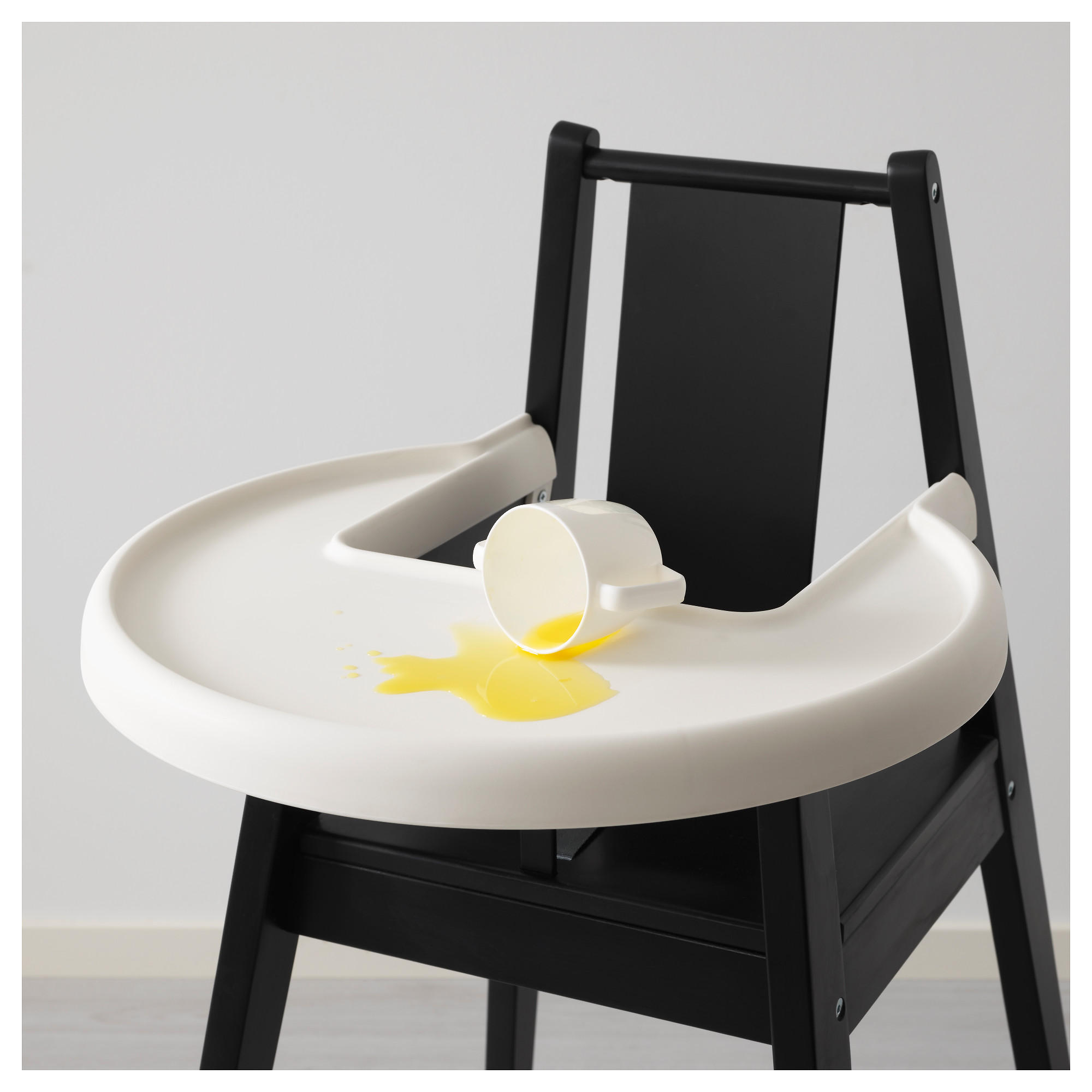 BLÅMES High Chair With Tray   IKEA