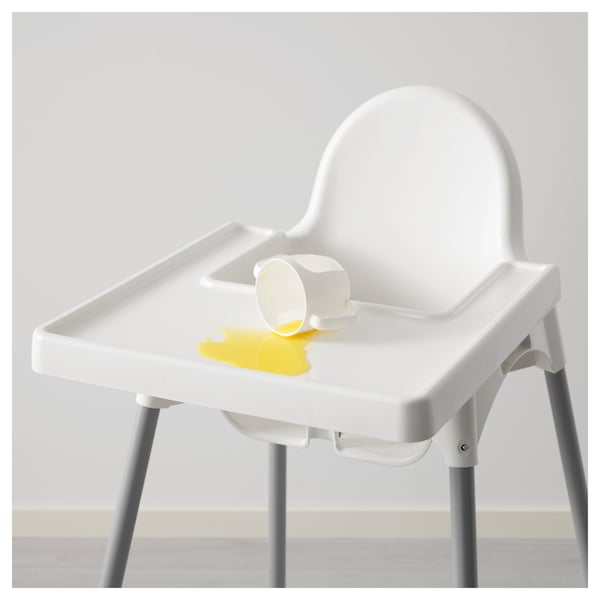 IKEA ANTILOP Highchair with tray