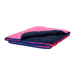 IKEA PS 2017 sleeping bag, pink, dark blue