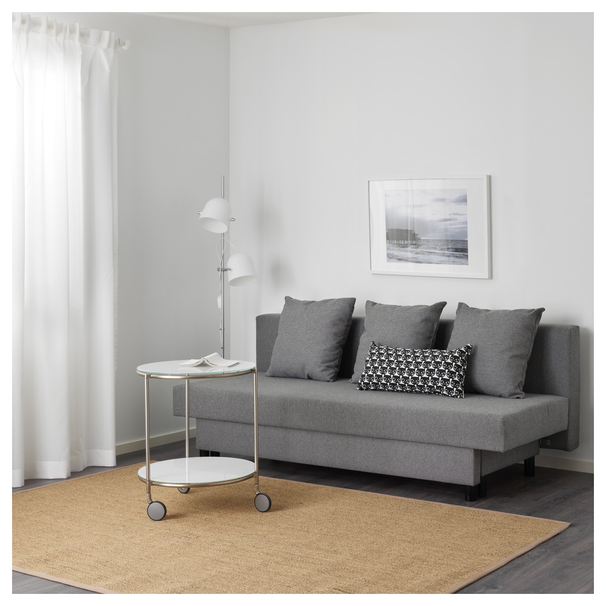 ASARUM Three-seat sofa-bed - IKEA