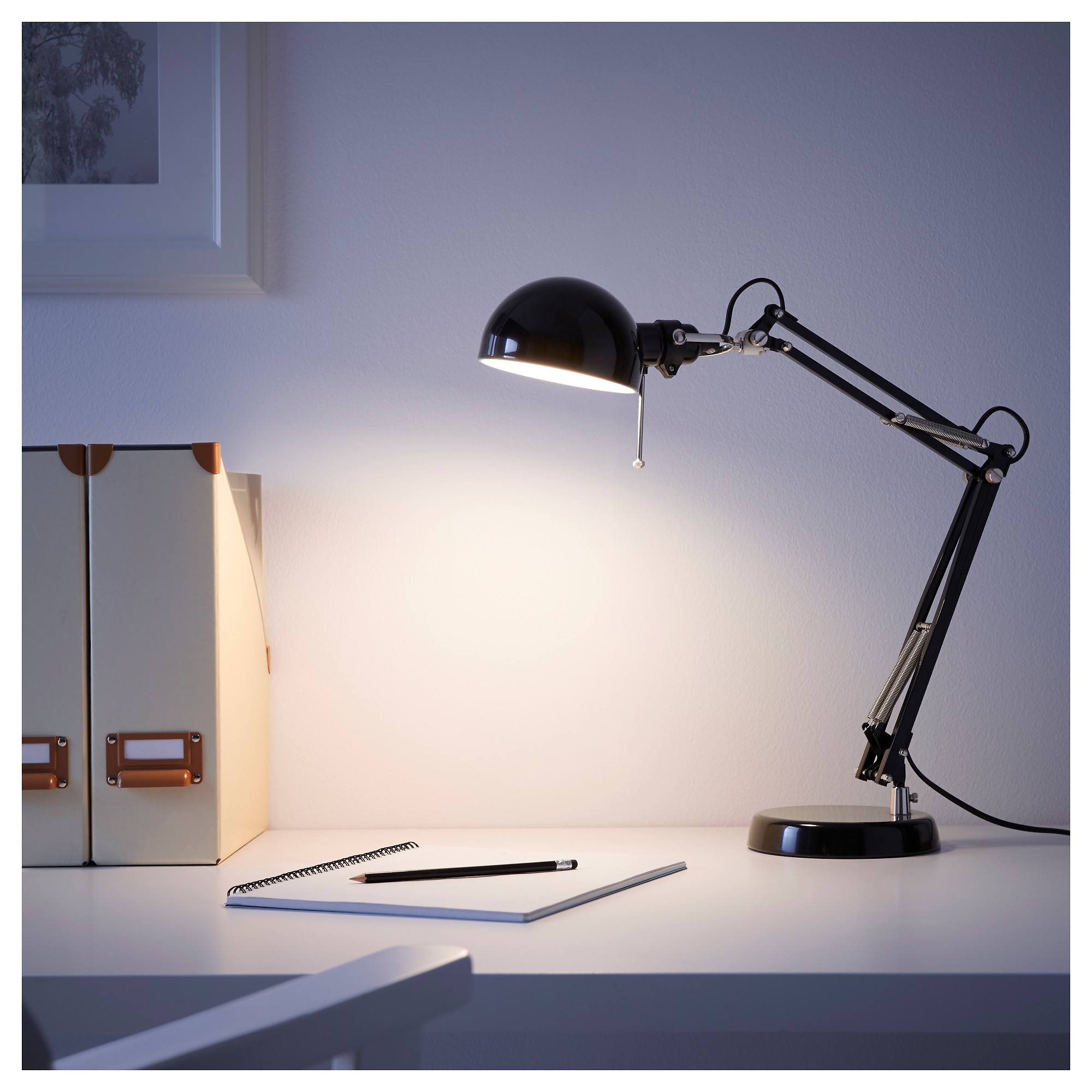 Captivating FORSÅ Work Lamp With LED Bulb   IKEA