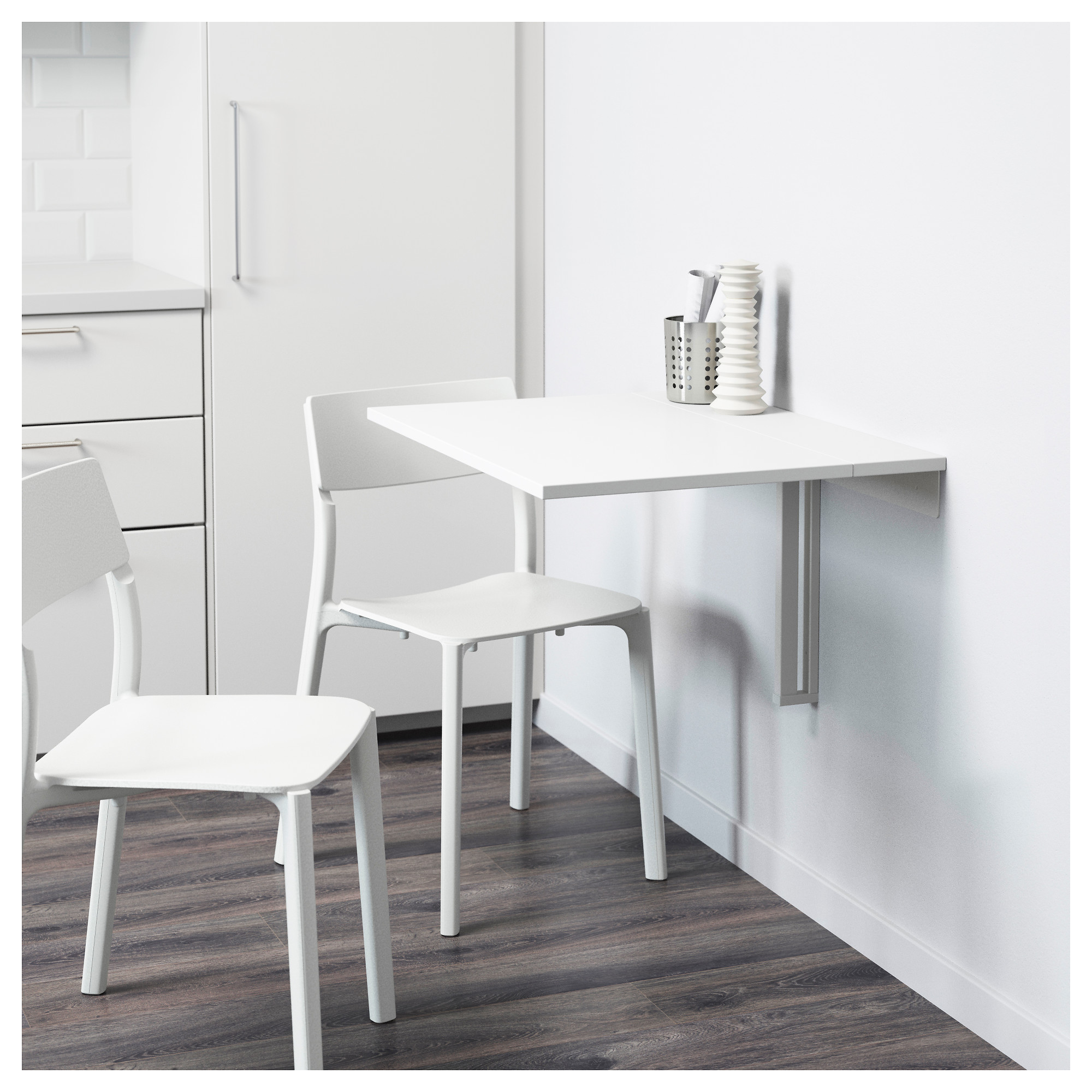 Image Of Mesa Abatible Pared Cocina Ikea NORBERG Mesa plegable de ...